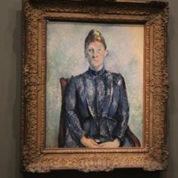 Femme Cezanne