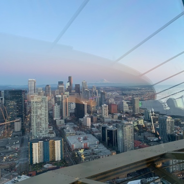 Vue du Space Needle